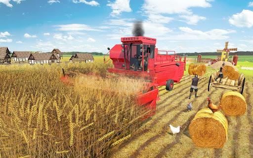 Real Farming Tractor Farm Simulator: Tractor Games android2mod screenshots 7