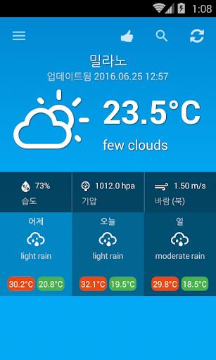 玩免費天氣APP|下載날씨 이탈리아 app不用錢|硬是要APP