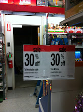 Photo: Lucky for us, everything was on sale!