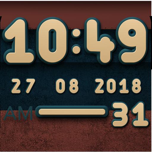Cabu Digital Clock Widget