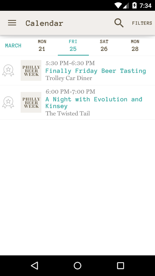 Philly Beer Week 2016- screenshot