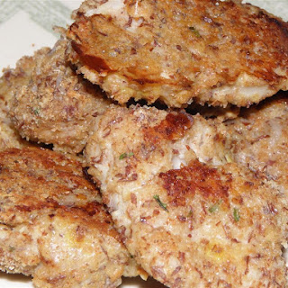 Oven Fried Fish Nuggets