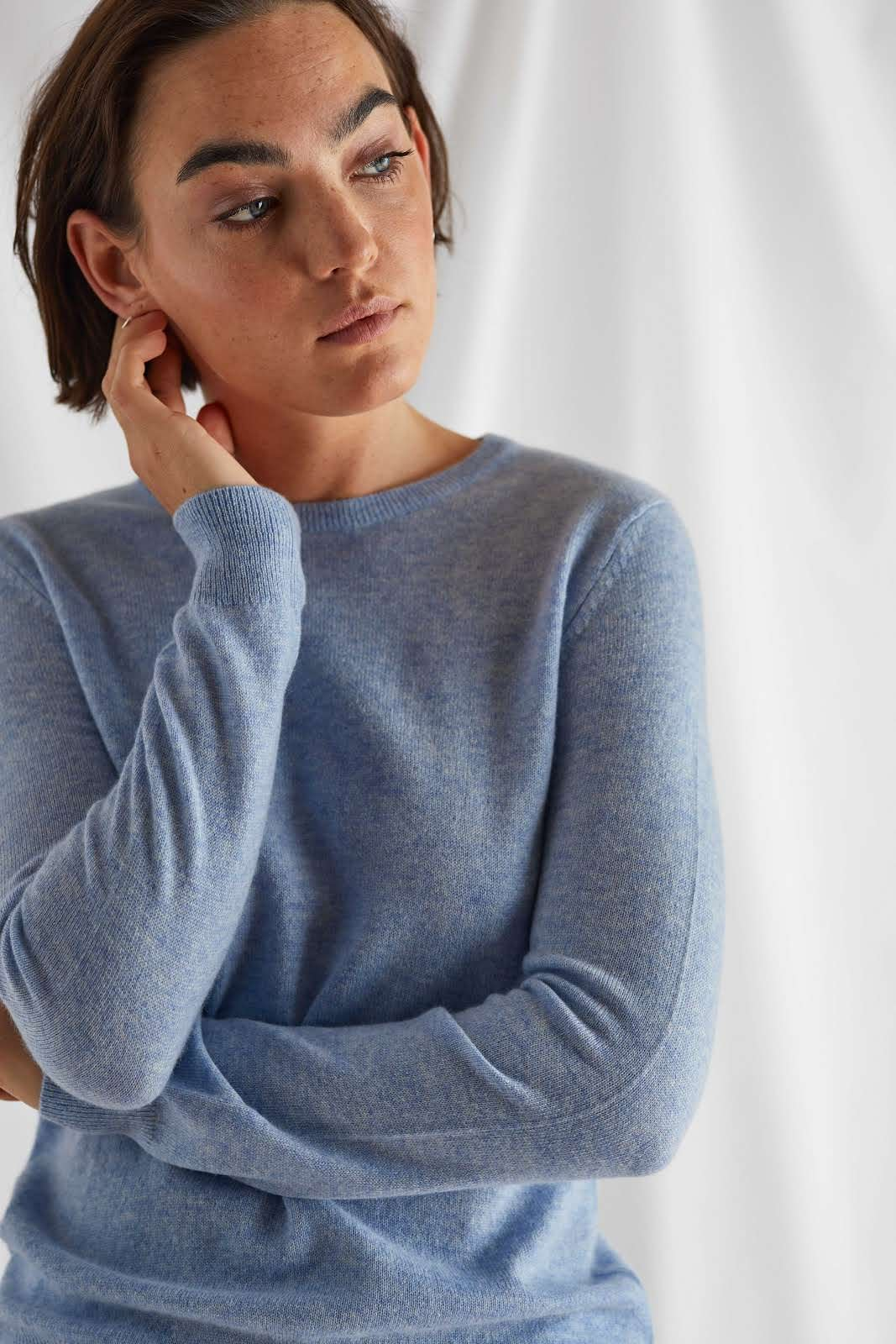 Basic O-neck Sweater