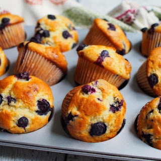 Blueberry Muffins Cake Flour Recipes.