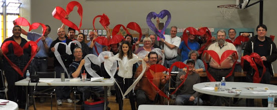 Photo: Wind Climbers Heart Workshop 2013. You gotta have heart!