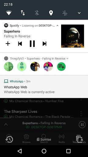 Thingify - Manage your Spotify playlists easier! DarkSun screenshots 1