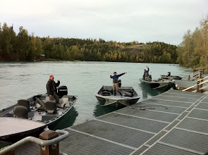Photo: A fall morning with Alaska Drift Away Fishing.