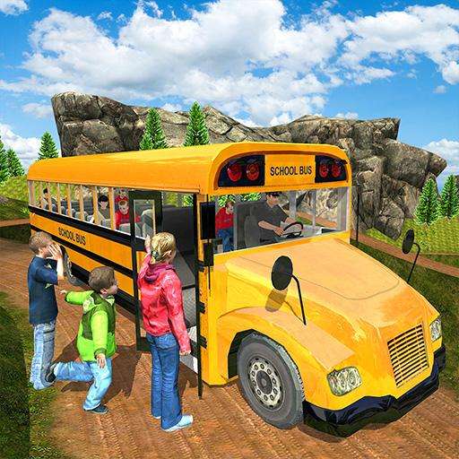 Offroad School Bus Driving Simulator 2019