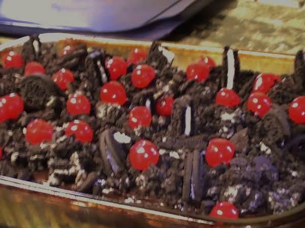 Shara's Choco-cherry Coke Cake W/ Crushed Oreos Recipe