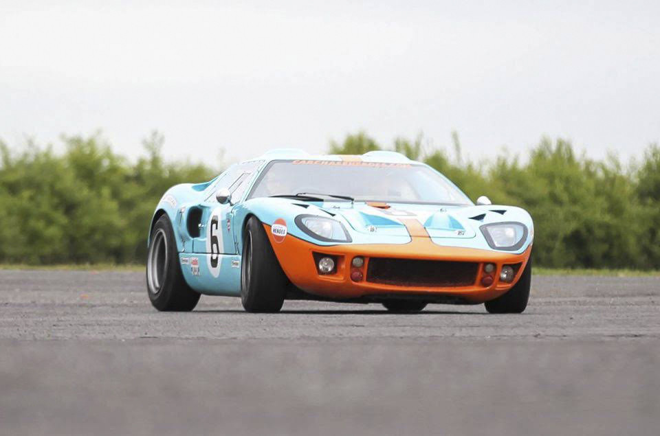 Ford Gt40 Hire Cardiff