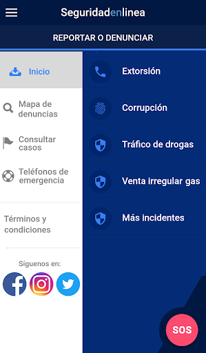 Seguridad en Linea app (apk) free download for Android/PC/Windows screenshot