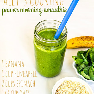 Ally's Power Morning Smoothie
