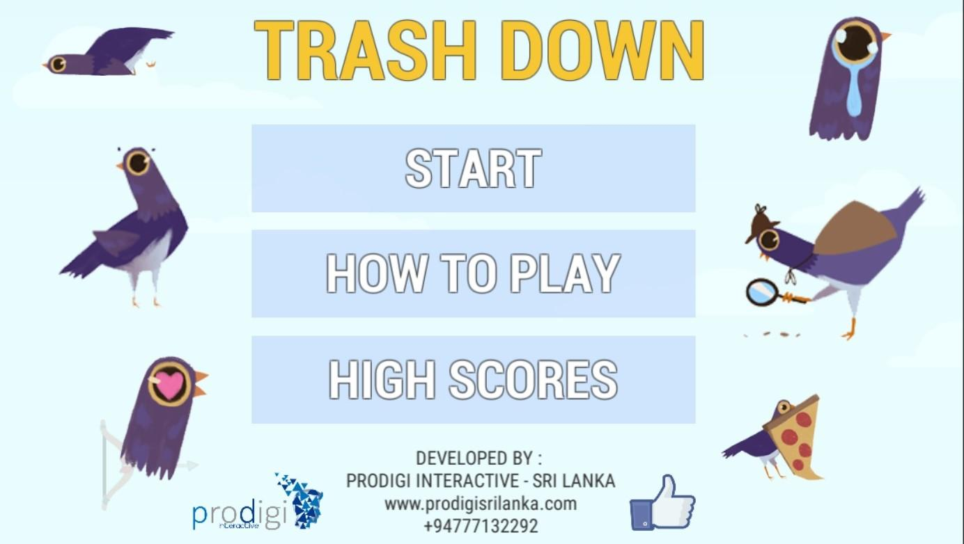 Trash Down - Trash Dove- screenshot
