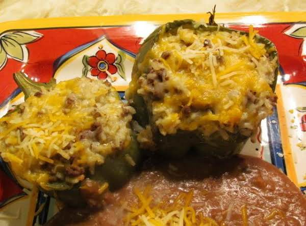 Mexican Style Stuffed Bell Peppers
