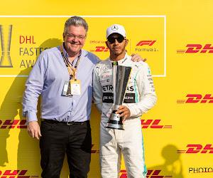 Wereldkampioen Hamilton blijft Verstappen voor, Leclerc als derde over de streep