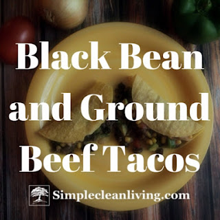Black Bean and Ground Beef Tacos