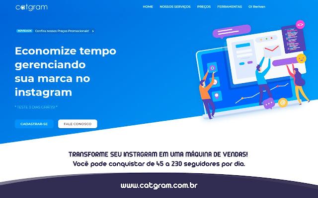 CatGram - Conecta Fácil