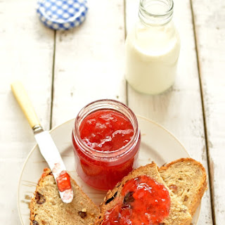 Plum And Amaretto Jam.