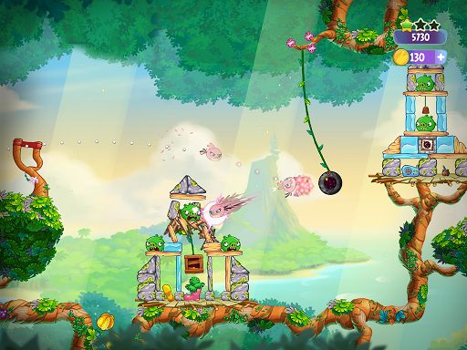 Angry Birds Slingshot Stella screenshot 20