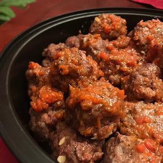 Paleo Sriracha Meatballs