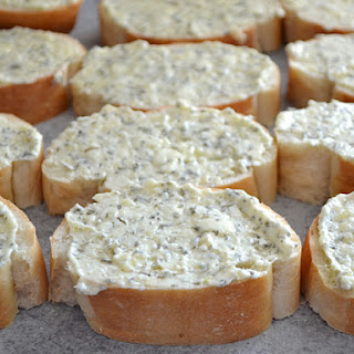Homemade Freezer Garlic Bread.