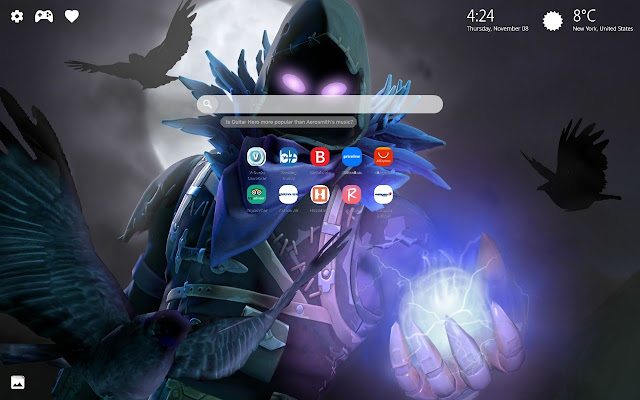 Raven Fortnite HD Wallpapers New Tab Theme