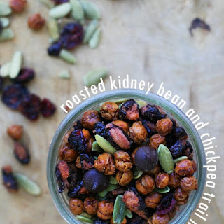 Roasted Kidney Bean and Chickpea Trail Mix Recipe