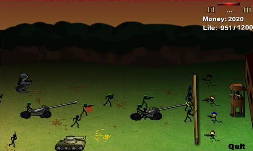 Stickman Final Defence