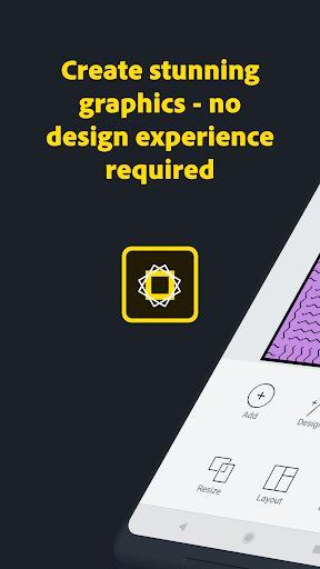Adobe Spark Post: Graphic design made easy 0.7.1 Screenshots 1
