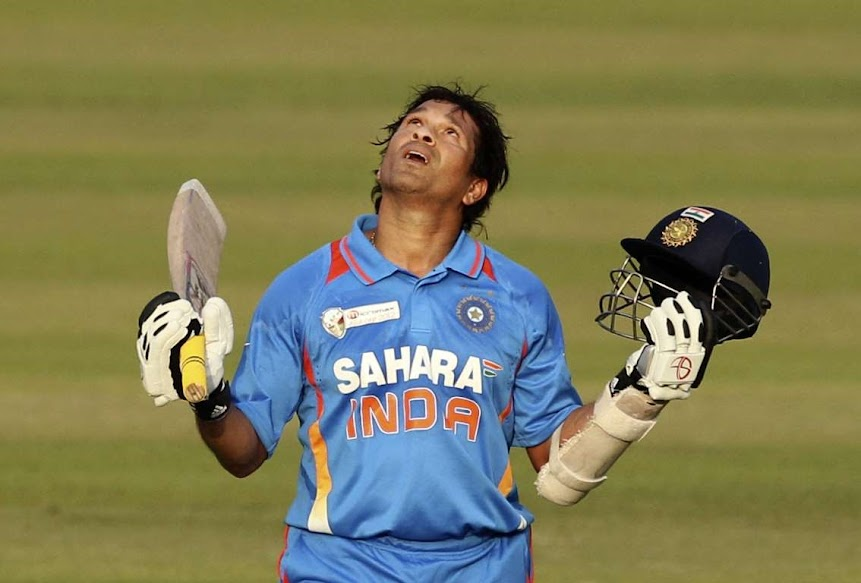 Sachin Tendulkar the Bradman of modern era was not only a great batsman but also the greatest exponent of the straight drive With the help of  international centuries Sachin scored  runs in  Tests