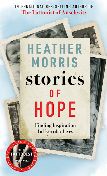 The cover of Heather Morris' book, 'Stories of Hope'