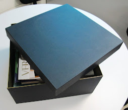 Photo: Caixa (3) grande e semi-aberta - Pode ser utilizada como porta objetos, organizador, embalar presentes, etc.