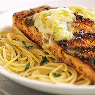 Salmon with Lime Butter Recipe