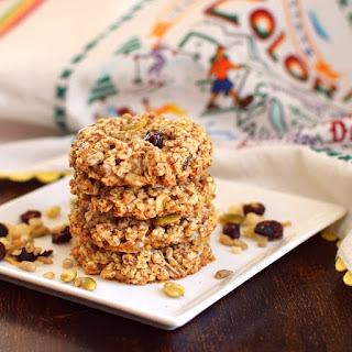 Trail Mix Cookies (Gluten-Free & Vegan).