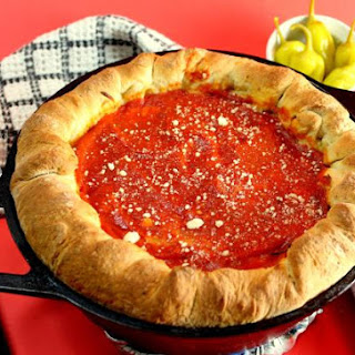 Sweet Home Chicago Style Deep Dish Pizza.