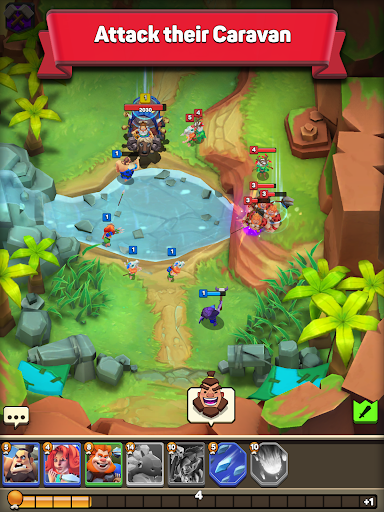 Clash of Tribes: Stone Age Battle 1.1.8 screenshots 6
