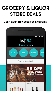 bevRAGE - Cash Back on Alcohol- screenshot thumbnail