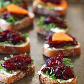 Balsamic Roasted Cranberries