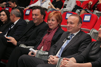 Photo: Soldan Sağa:Gerd Leonhard & Ufuk Tarhan & Alphan Manas