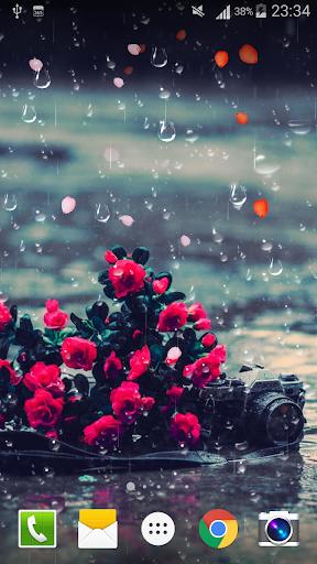 Rose Raindrop Live Wallpaper  screenshots 7