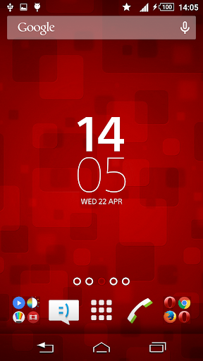 Texture Red Xperien Theme