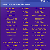 Bus Time Table Sentharapatti