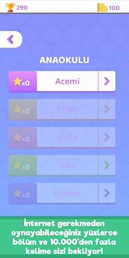 Bilgelik Online Kelime Bulma Oyunu screenshot 6