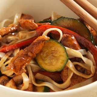 Asian Chicken Stir-fry.