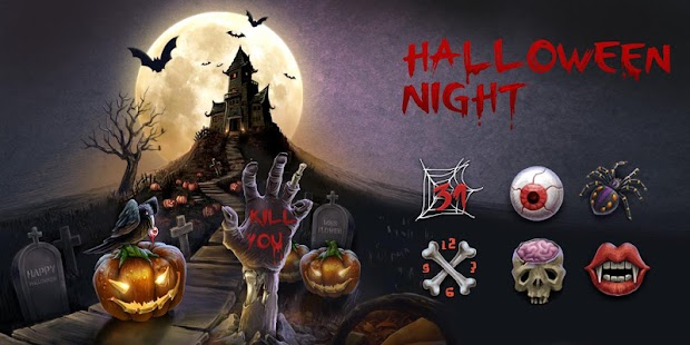 Halloween Night GO Theme - Android Apps on Google Play