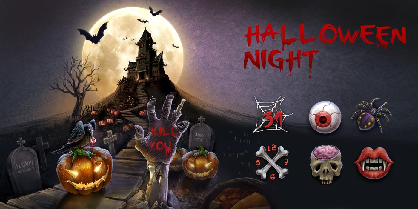 Gmail themes halloween - Halloween Night Go Theme Screenshot