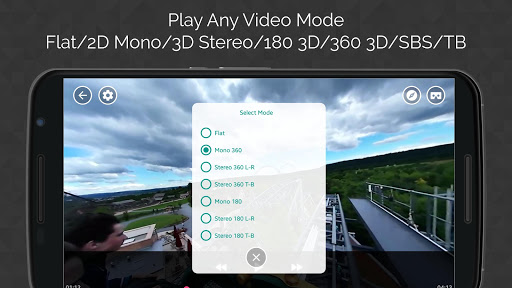 VR Video Player : Lightest VR player in the market game for Android screenshot