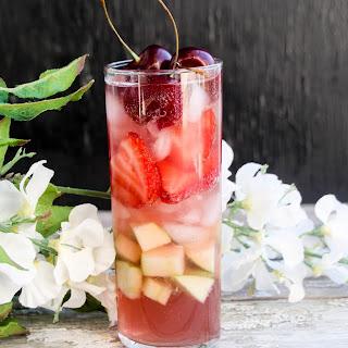 Kombucha Tea & Vodka Sangria.