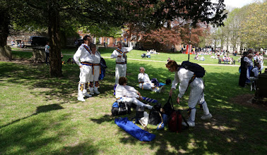 Photo: BUT STILL TIME FOR A PICNIC