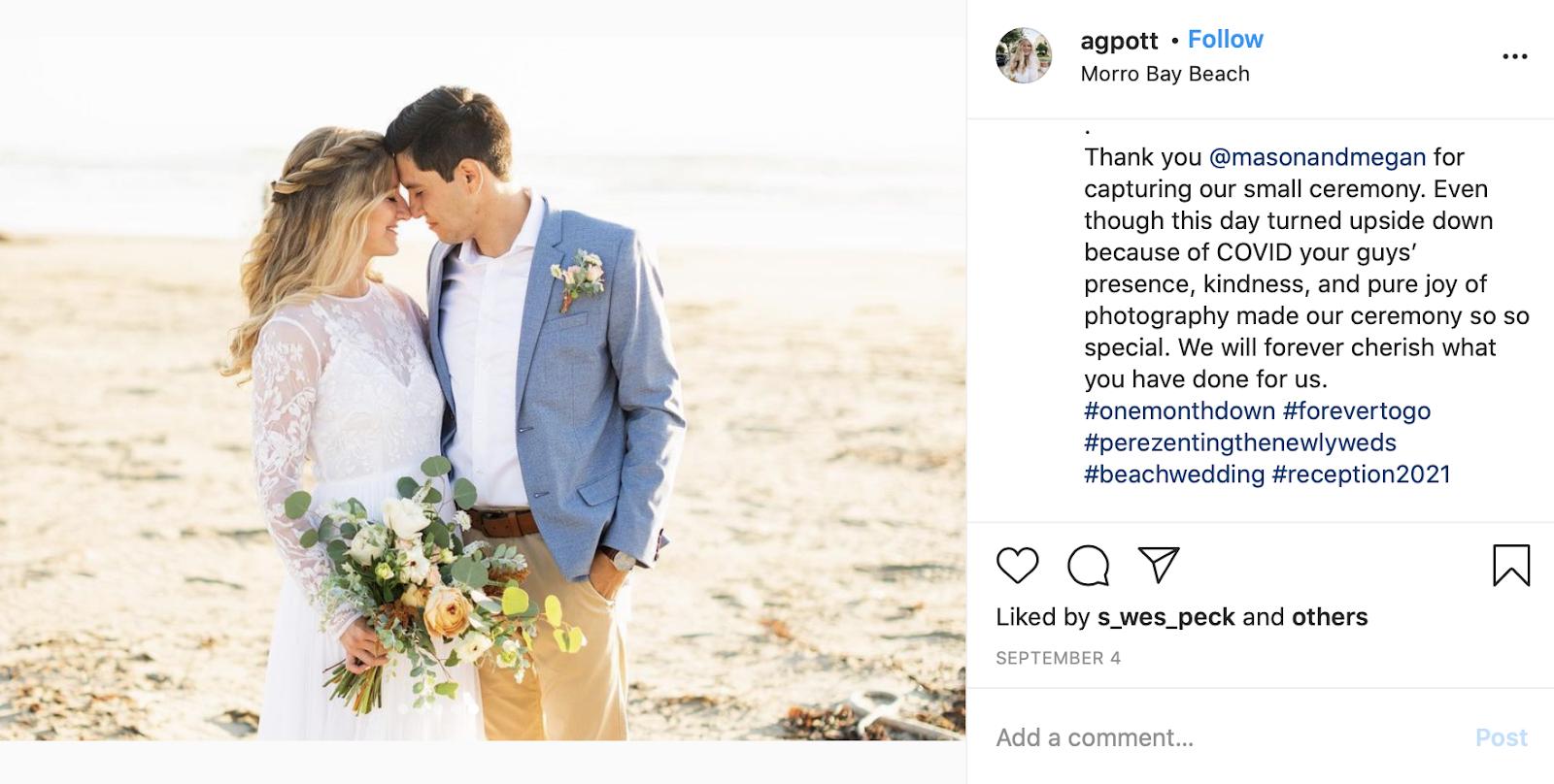 wedding hashtag creator - Perez's wedding hashtag created by The Wedding Hashers